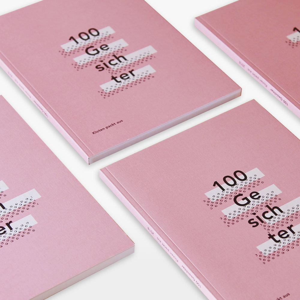 Grafik, Layout, Typografie, Publikation «Kloten packt aus», Vorschau-1