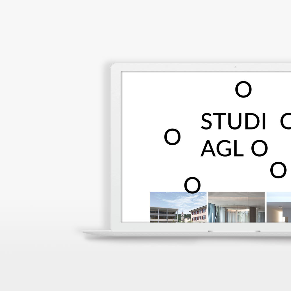 Webdesign, studioaglo.com – Artwork, Logo Animation, Realisation, Vorschau